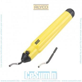 ALYCO 111545 - Rebarbador cuerpo plastico 150 mm