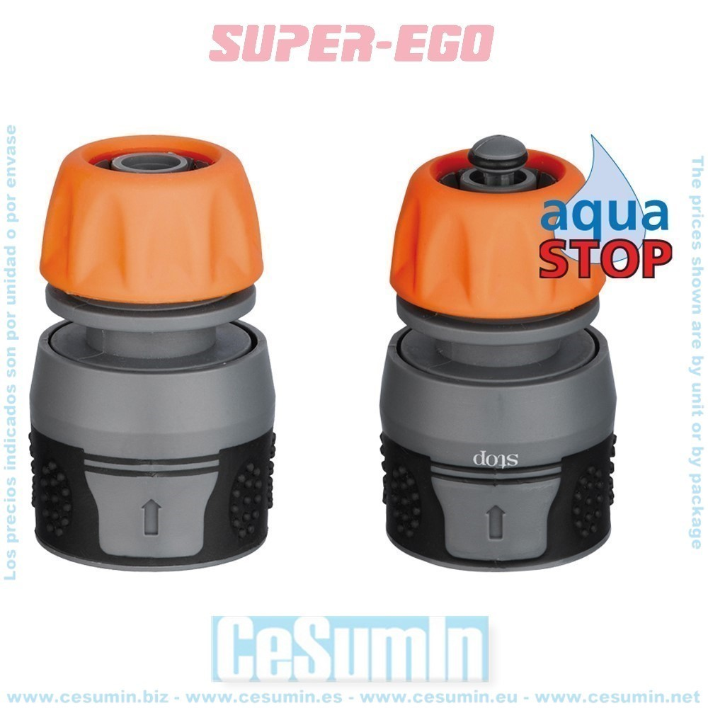 "SUPER EGO SD5001700 - Conector automatico 3/4"" gr s.ego"