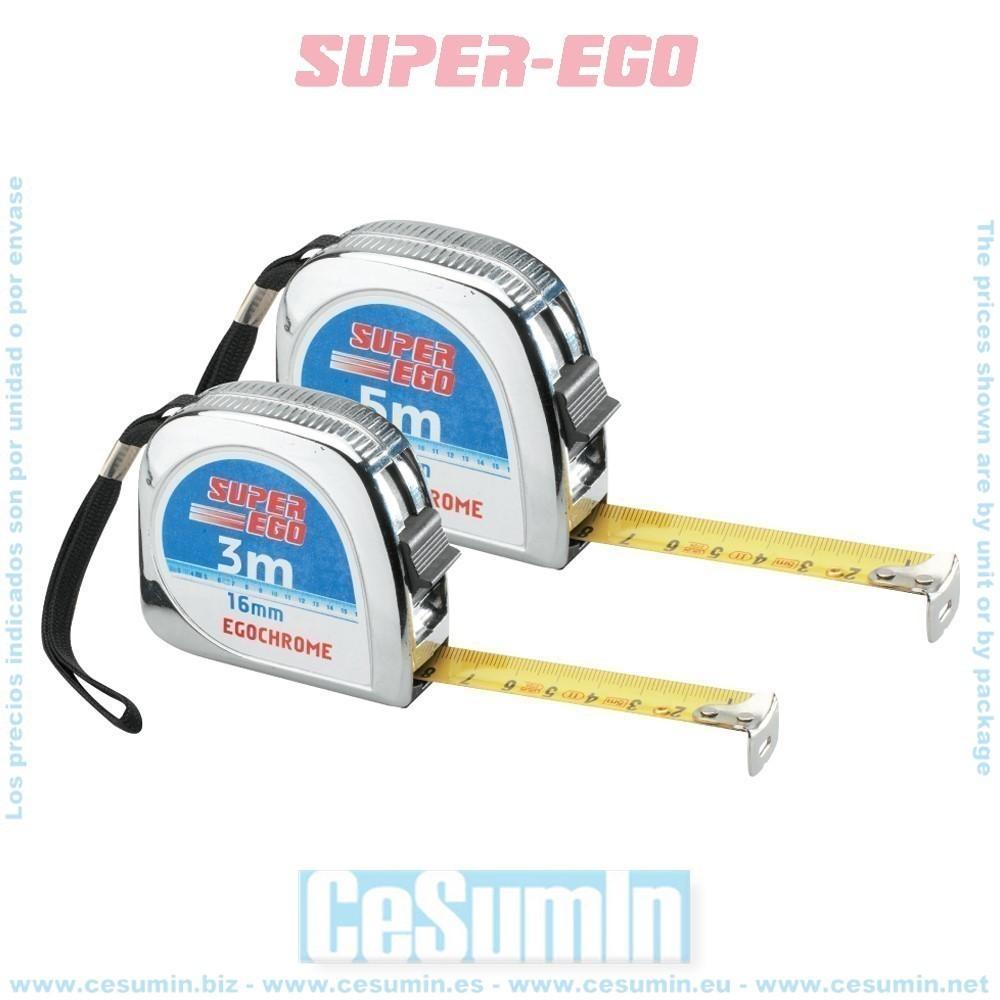 SUPER EGO M31201700 - Flexometro ergochrome 5x19