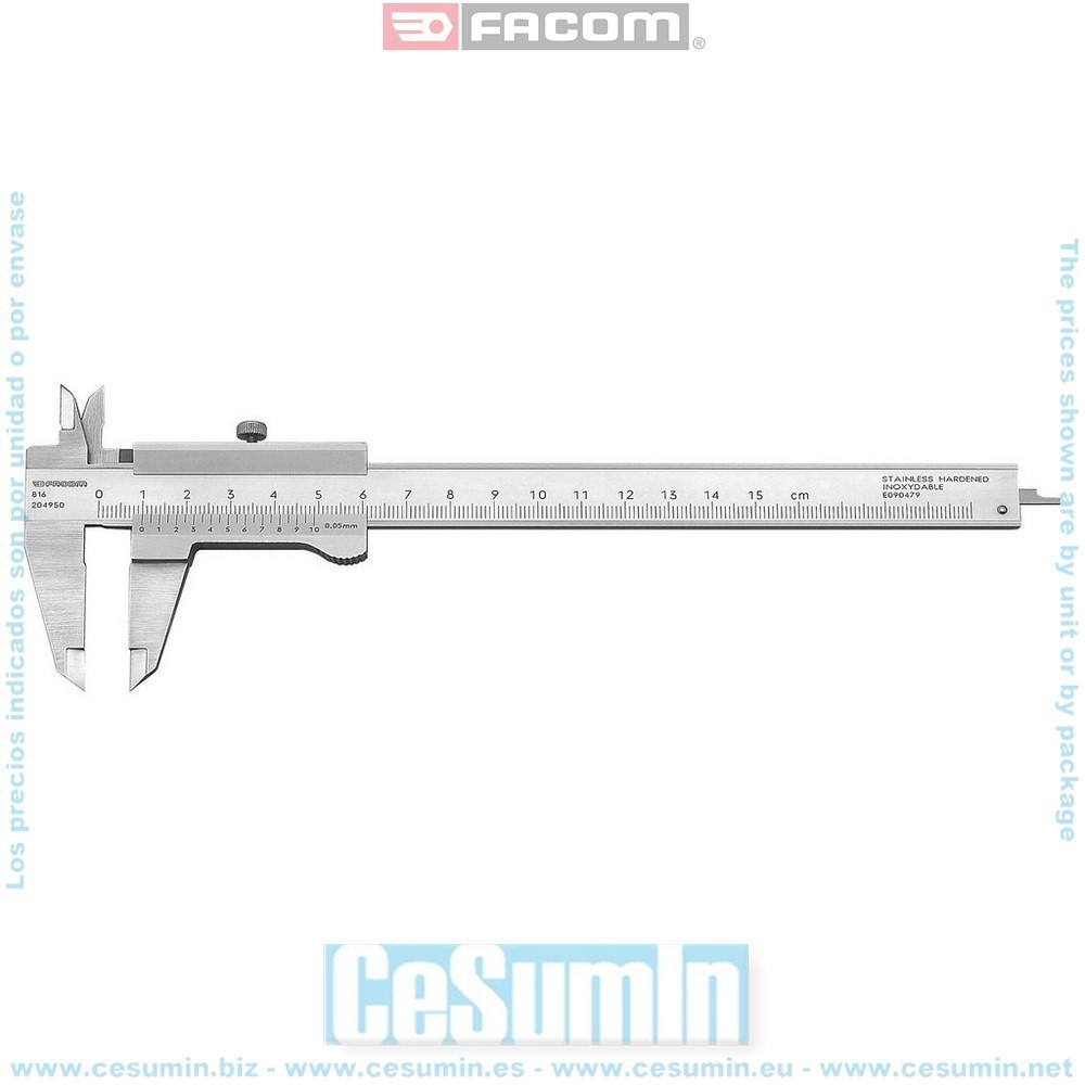 FACOM 816 - Calibre universal 1/2 0eme 150 mm