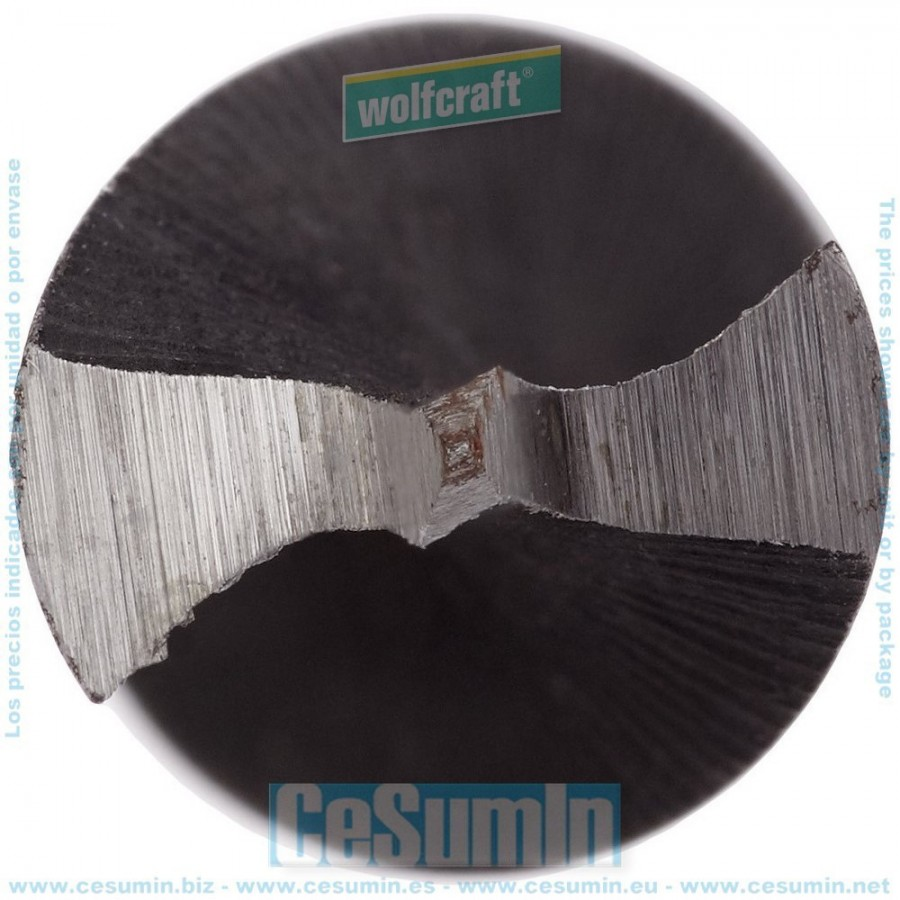 Gris Wolfcraft 7131000 Broca para Vigas 0 V 6.0 x 165 mm