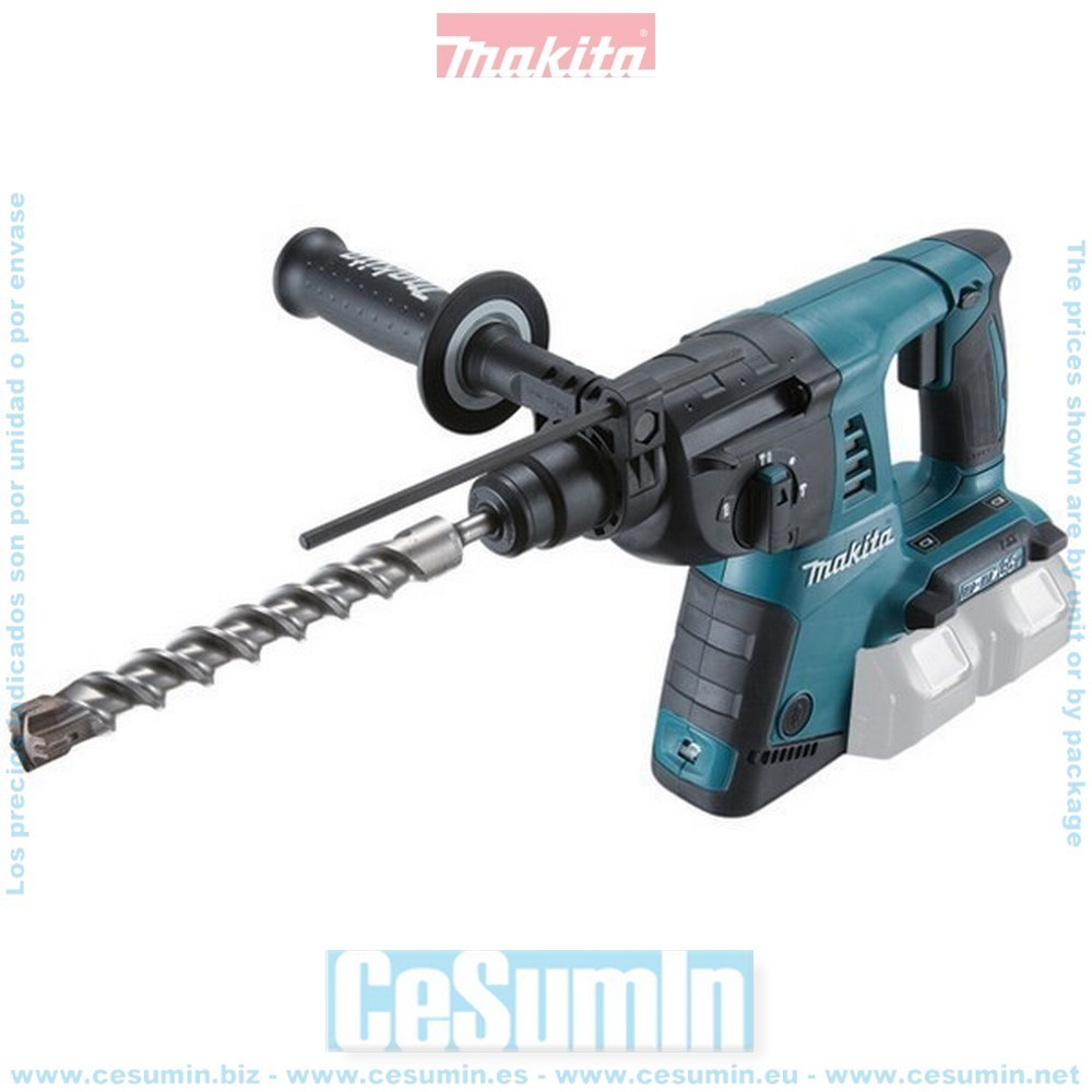 MAKITA DHR263Z - Martillo ligero 36v litio-ion diametro broca max 26mm solo maquina