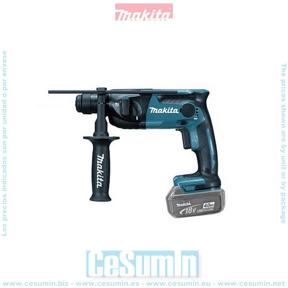 MAKITA DHR165Z - Martillo ligero a bateria 18v sds-plus litio-ion 165 mm solo maquina
