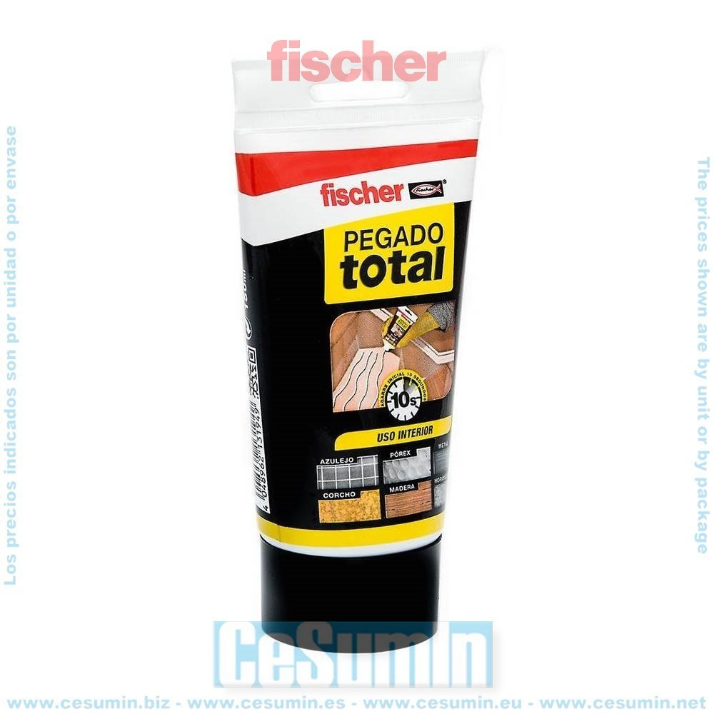 Fischer 514855 Adhesivo fijador PEGADO TOTAL 150ml