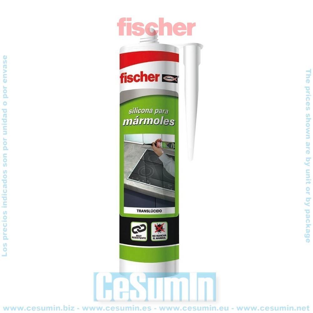 Fischer 020742 Silicona marmoles translucida